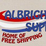 The Hog Ring - Albrights Supply Logo