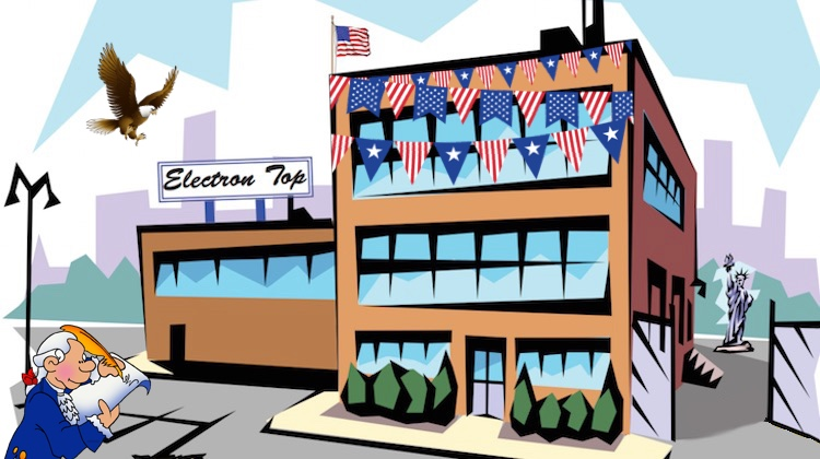 The Hog Ring - Electron is Celebrating Constitution Week