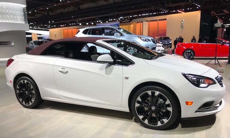 The Hog Ring - Haartz Corporation Tops NAIAS - Buick Cascada