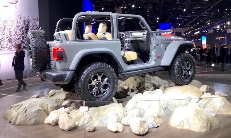 The Hog Ring - Haartz Corporation Tops NAIAS - Jeep Wrangler