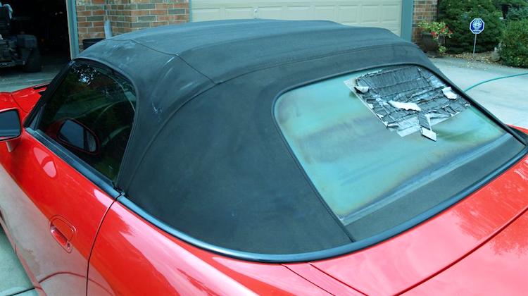The Hog Ring - An Epic Rant Against Plastic Rear Windows