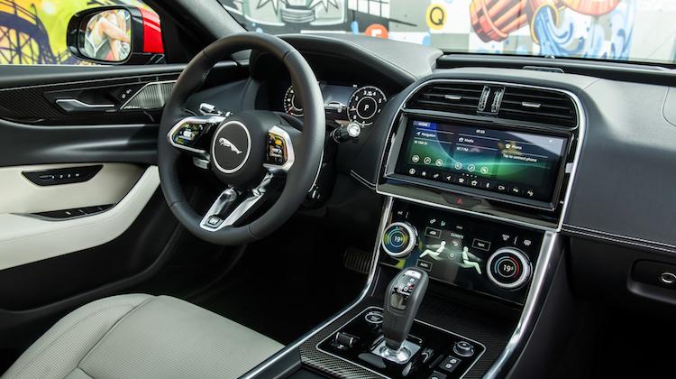 The Hog Ring - The Jaguar XE Won't Have Any Plastic Trim 1