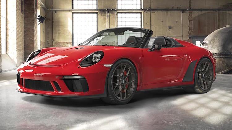 The Hog Ring - 2019 Porsche 911 Speedster