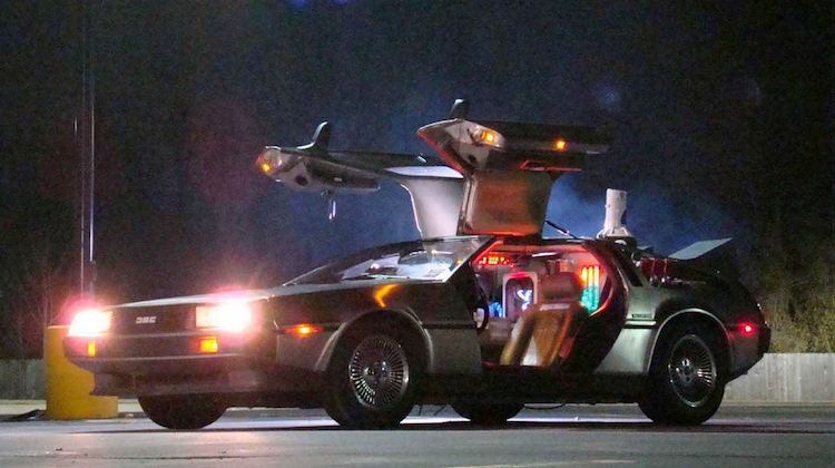 The Hog Ring - DeLorean - Back to the Future