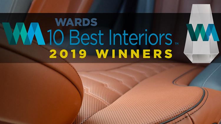 Wards Picks the '10 Best Interiors' of 2019