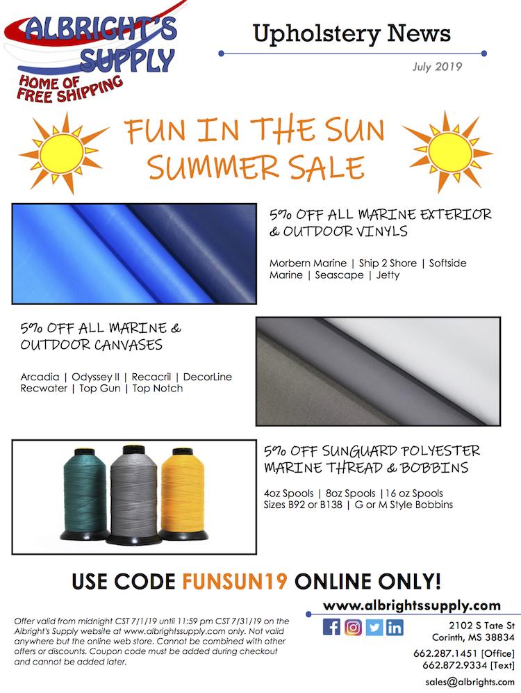 The Hog Ring - Albrights Supply Summer Sale