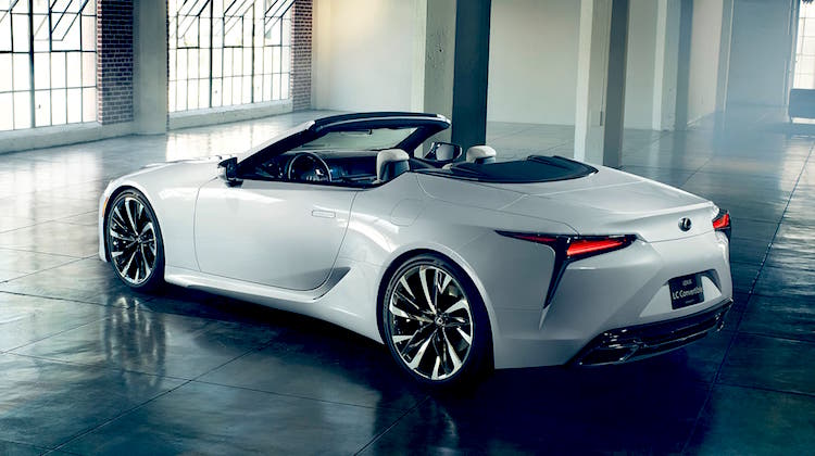 The Hog Ring - The Lexus LC Convertible is Real