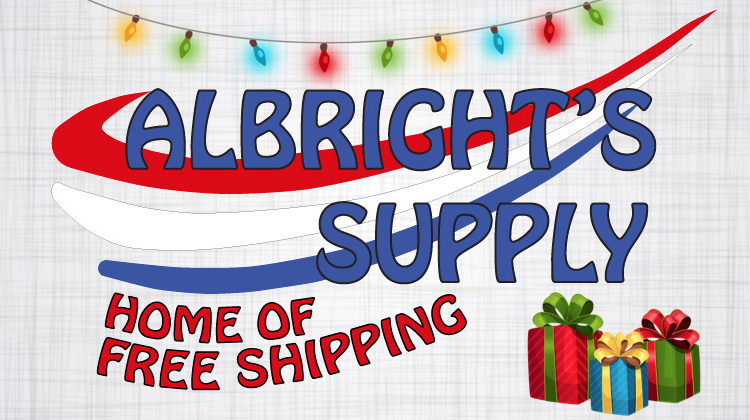 The Hog Ring - Christmas - Get a Free Tumbler from Albright's Supply