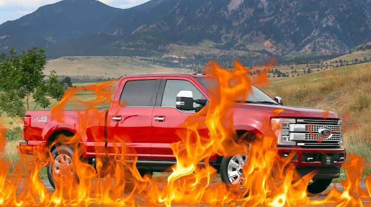 The Hog Ring - Ford Recalls 500K Trucks Amid Carpet Fires