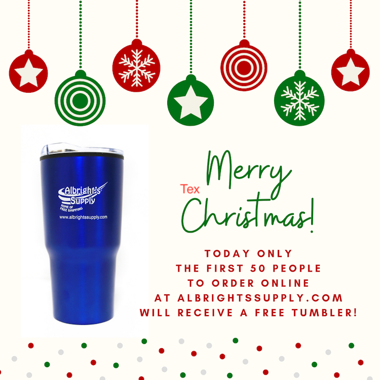The Hog Ring - Get a Free Tumbler from Albright's Supply