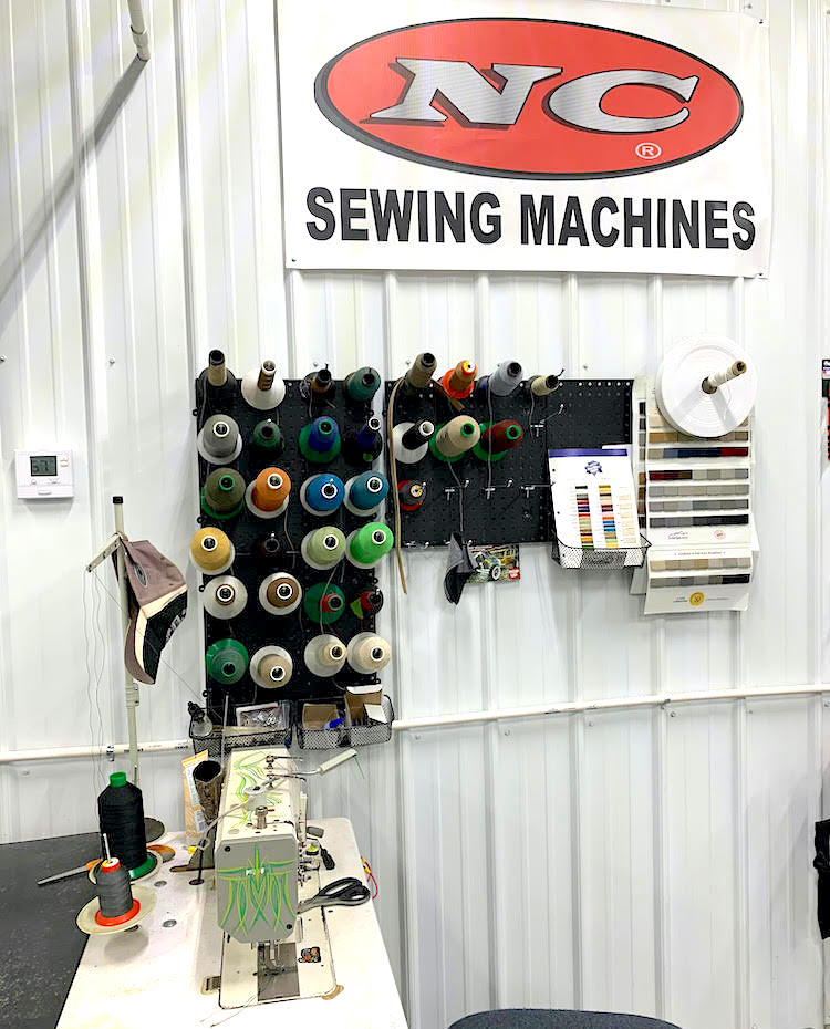 The Hog Ring - Sewn Tight Custom Interiors - Successful Shops are Clean and Organized