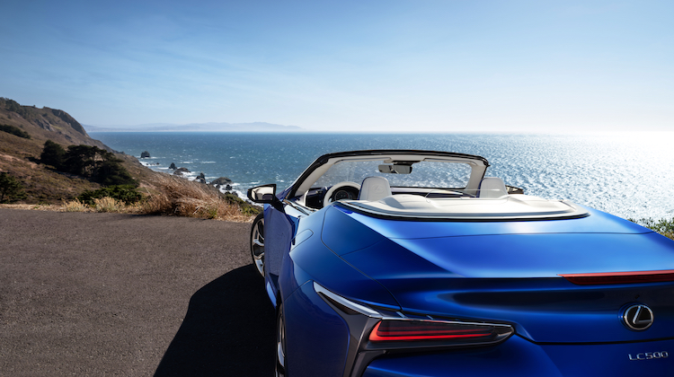 The Hog Ring - The Lexus LC 500 Convertible is the Next Hot Droptop