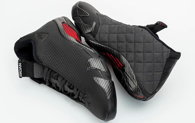 The Hog Ring - These Nike Sneakers Were Inspired by Car Interiors - Air Jodan Black Ferrari
