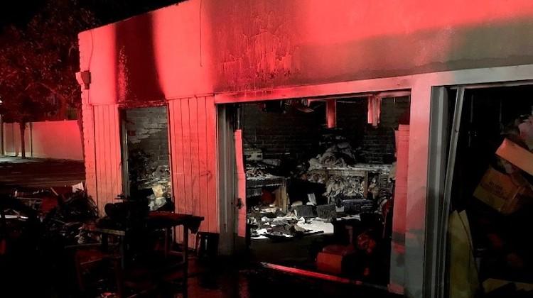 The Hog Ring - Manuels Upholstery Shop Damaged in Fire