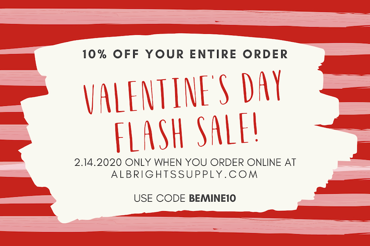The Hog Ring - Albrights Supply Valentines Day Flash Sale