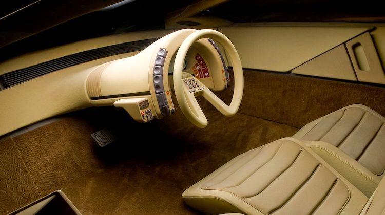 The Hog Ring - Citroen Karin steering wheel