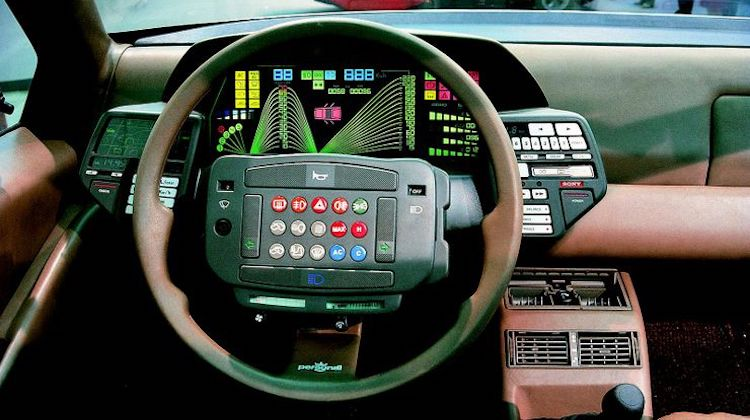 The Hog Ring - Lancia Orca steering wheel