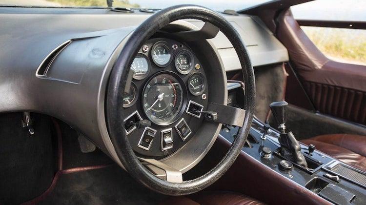 The Hog Ring - Maserati Boomerang Steering Wheel