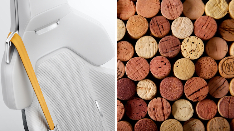 The Hog Ring - Polestar is Making Interiors from Wine Cork 2