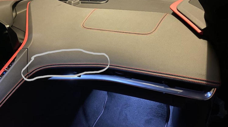 The Hog Ring - Corvette C8 Knocked for Having Wavy French Seams