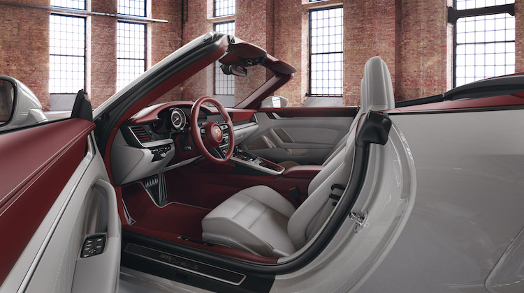 The Hog Ring - Porsche 911 offered with New Two-Tone Interior