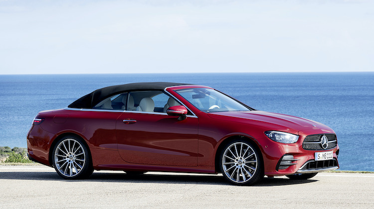 The Hog Ring - Haartz Tops the New Mercedes E-Class Convertible