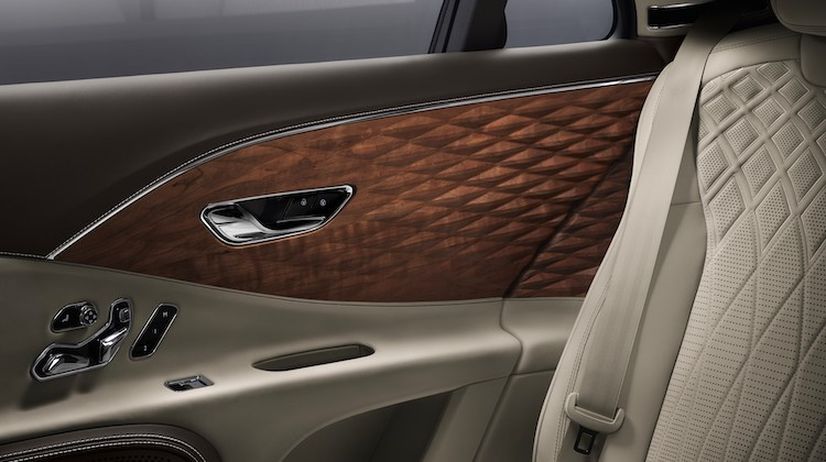 The Hog Ring - Check Out Bentley 3D Wood Door Panels