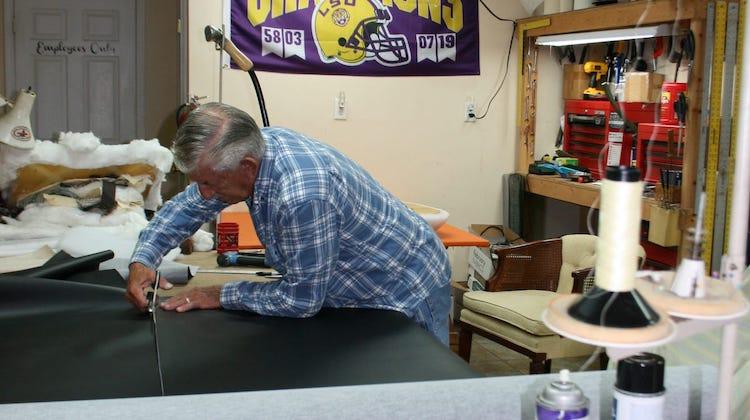 The Hog Ring - Lawrence Kraemer of Kraemers Upholstery