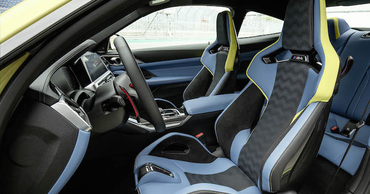The Hog Ring - The BMW M3 and M4 Sport Seats are Hot