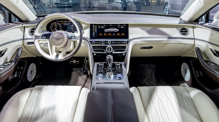 The Hog Ring - Bentley Now Offers 5000 Veneer Options