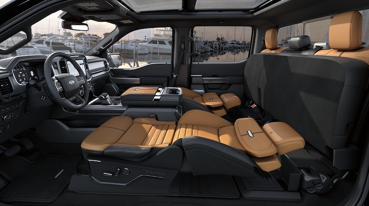 The Hog Ring - Ford Debuts Max Recline Seat for Sleeping on the Road