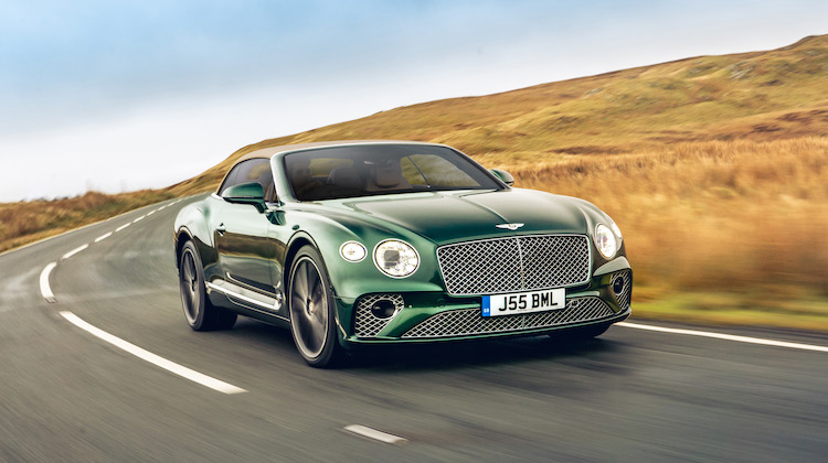 The Hog Ring - Bentley Reintroduces Tweed as a Super Luxury Fabric