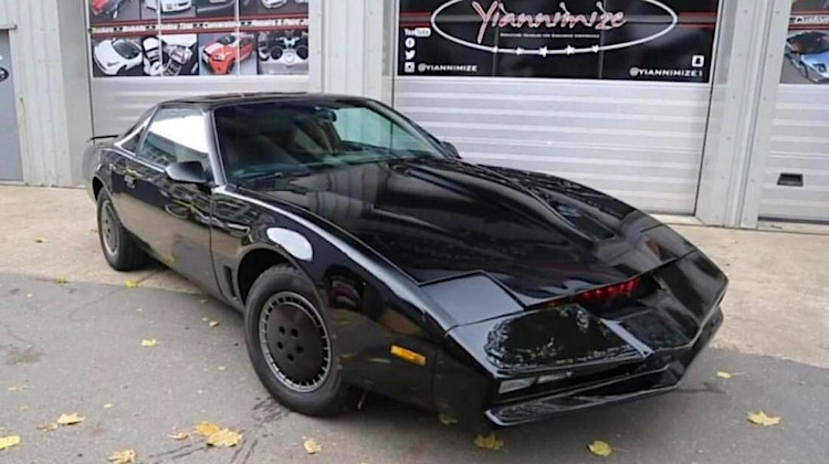 The Hog Ring - David Hasselhoff KITT Car is for Auction 1
