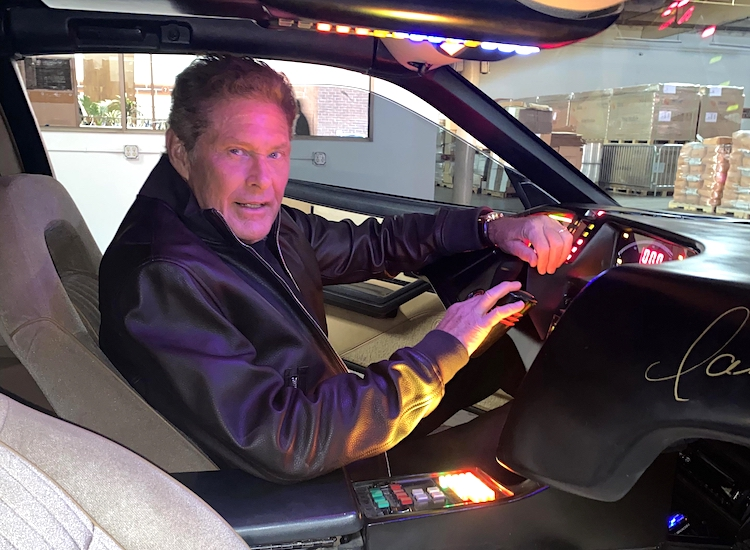 The Hog Ring - David Hasselhoff KITT Car is for Auction 1