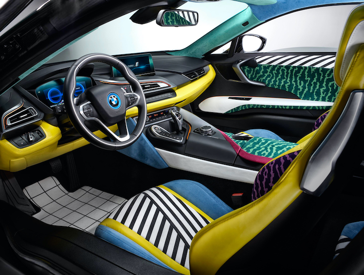 The Hog Ring - Is This the Wildest Alcantara Interior Ever