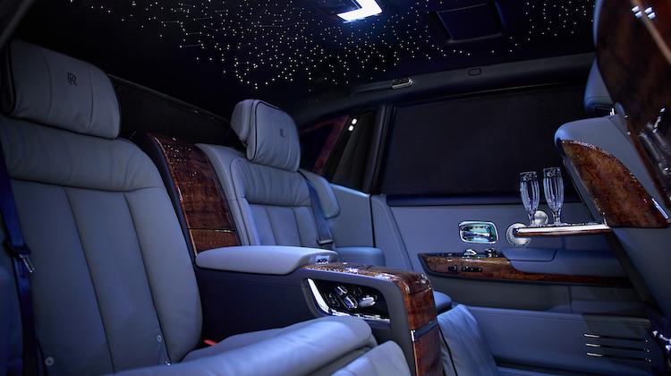 The Hog Ring - This Rolls Royce Features Rare Koa Wood Veneers