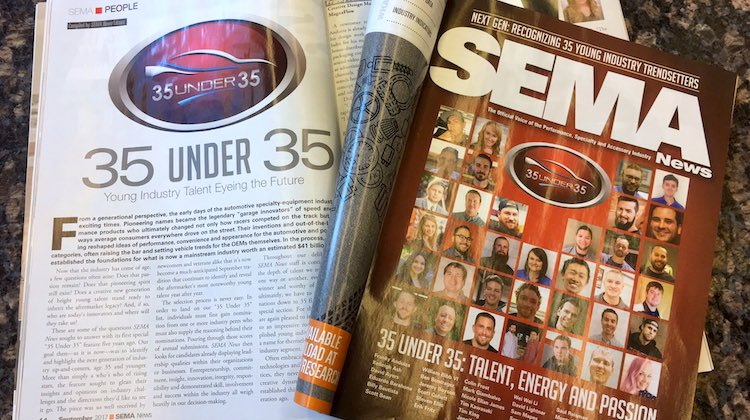 The Hog Ring - SEMA Opens Nominations for 35 Under 35