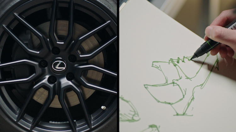 The Hog Ring - These Sneakers Were Designed to Look Like the Lexus IS