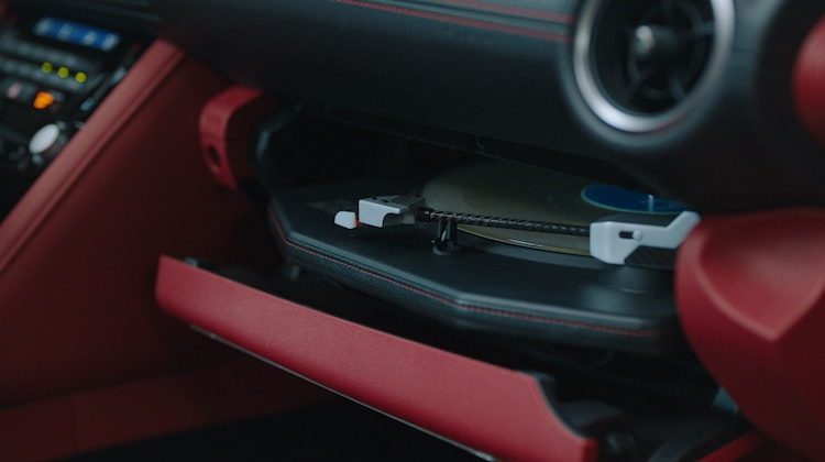 The Hog Ring - Lexus Just Put a Turntable in the Glove Box