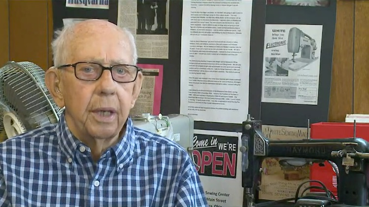 The Hog Ring - Sewing Machine Repair Man Retires after Nearly 70 years