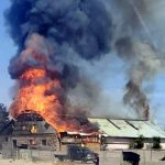 The Hog Ring - New Mexico Trim Shop Destroyed in Fire