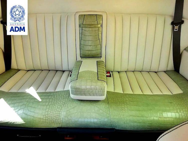 The Hog Ring - Rolls-Royce Seized for Illegal Crocodile Interior