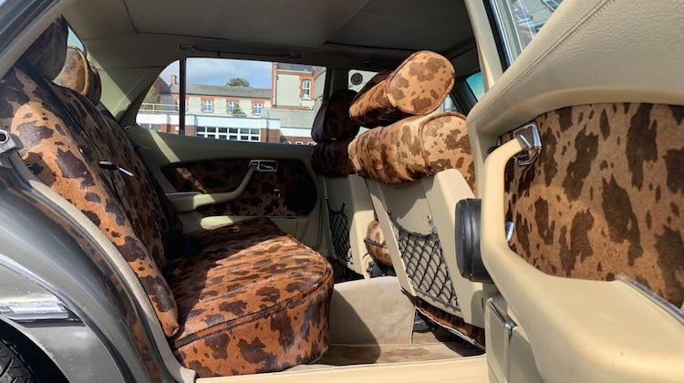 The Hog Ring - Bono Trimmed His Car in Ugly Cowhide