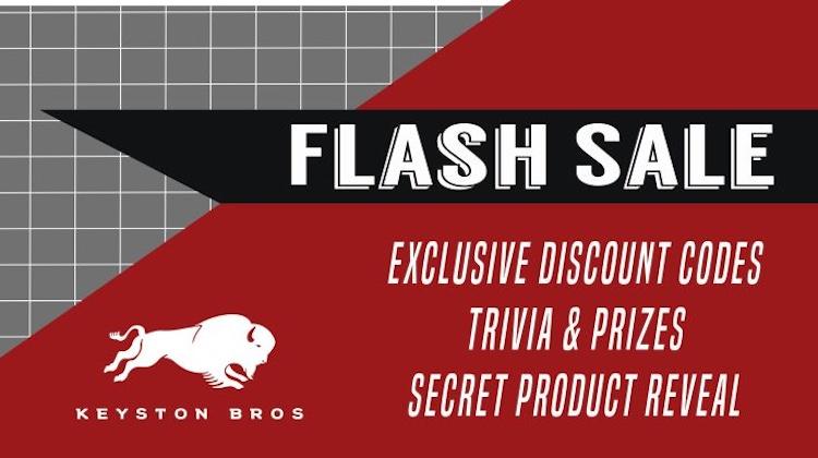 The Hog Ring - Keyston Bros is Having a Flash Sale