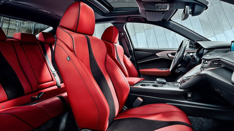 The Hog Ring - Red Seats Will Transform Your Driving Experience